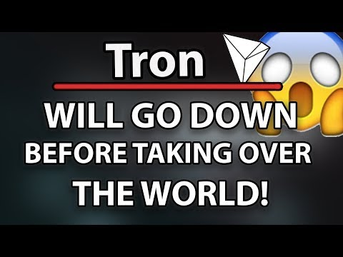 Tron (TRX) Will Go Down Before Taking Over The World, Project Atlas, Utorrent Web & Wallet!