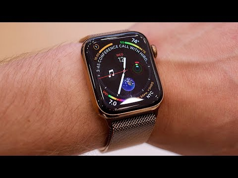 Apple Watch Series 4 hands-on