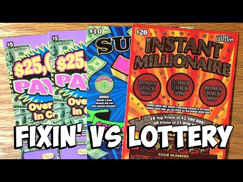 Who Wins? Mix of Tix! $20 Instant Millionaire, Super 7's + more! ✦ TEXAS LOTTERY Scratch Off Tickets