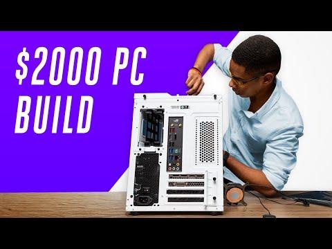 How we built a $2000 custom gaming PC