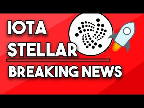 Stellar XLM Breaking News, IOTA Huge Partnerships & Disrupt Trillion Dollar Market!