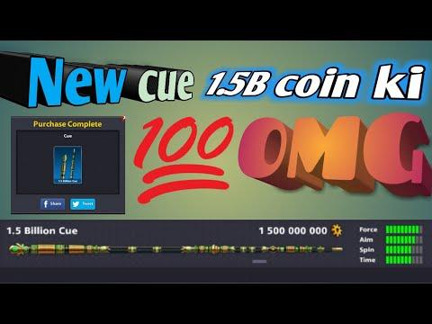 Omg new cue purchasing 1.5B coin ki 😵😱😵