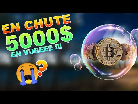 BITCOIN 5000$ EN VUUUEEEEE !!!??? BTC analyse technique crypto monnaie
