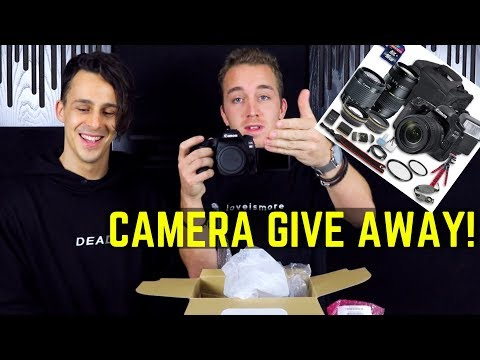 GIVING AWAY CANON EOS 80D CAMERA + EXTRAS!!