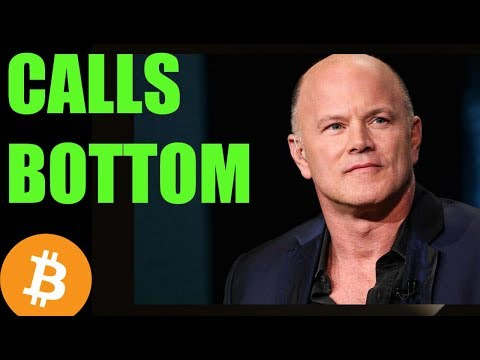 Michael Novogratz Calls BOTTOM – Daily Bitcoin and Cryptocurrency News