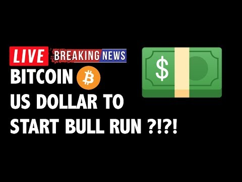 US Dollar Causing Bitcoin (BTC) Bull Run?! – Crypto Market Technical Analysis & Cryptocurrency News