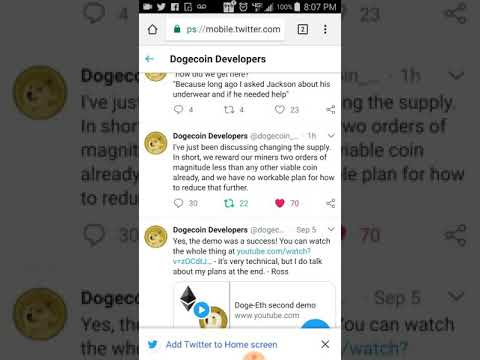 Putting a cap on dogecoin!?