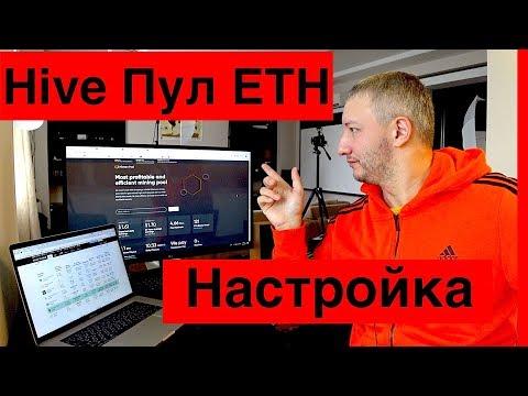 Hive OS Пул для ETH // Настройка Hiveon.net Mining PooL Ethereum
