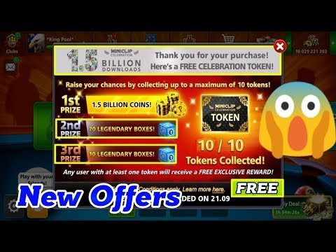 OMG- 8 Ball Pool Mega Prize Event – 30 FREE Legendary Boxe & Free 1.5 Billion Coins