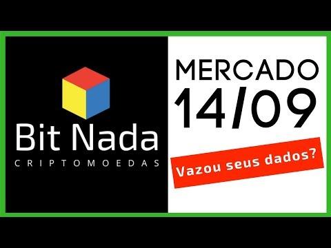 Mercado de Cripto! 14/09 Teve dados vazados? / BTC / EOS / Dólar