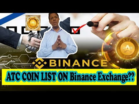 ATC COIN BIG UPDATE 14/09/2018 | ATC COIN LIST ON Binance Exchange COMING SOON | PUSHPINDER REVIEW??