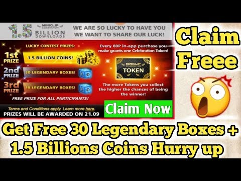 OMG ! 8 Ball Pool Biggest Reward Claim Now Free 1.5 Billion Coins + 30 Legendary Boxes | 100% Free