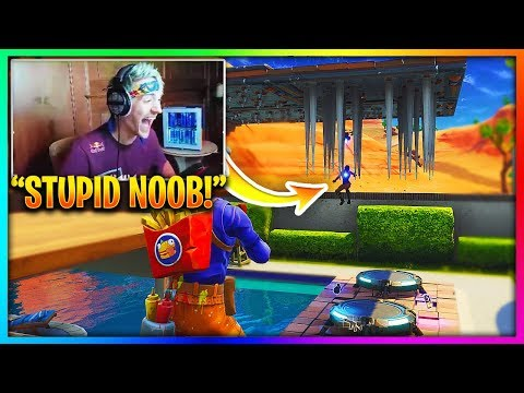 9 Times Pros Trolled Noobs in Fortnite! 😂