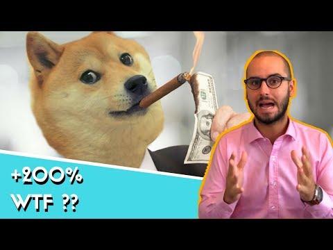 Le Dogecoin à +200% : Qu'est ce qu'il se passe ?? $DOGE