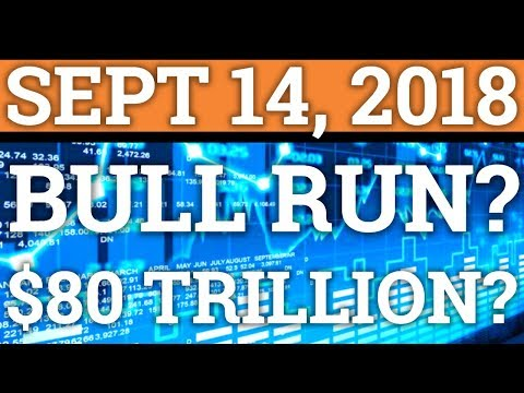 BITCOIN BULL RUN COMING BECAUSE OF THE USD? $80TRILLION CRYPTOCURRENCY MARKET? (PRICE + NEWS 2018)