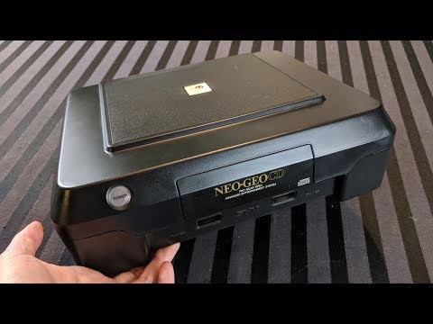 Cleaning and Restoring an SNK Neo Geo CD (Front Loader) – Adam Koralik