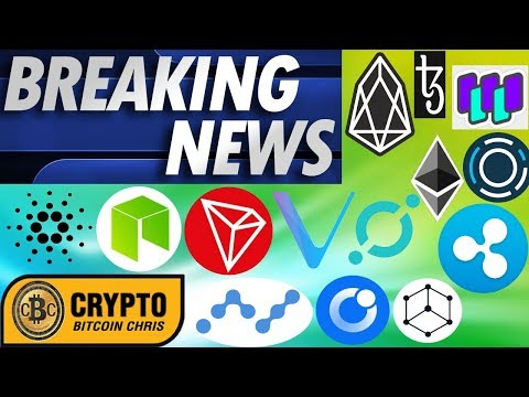 AGAIN! 30,000 BTC Moved!🔸EOS Hacked?!🔸$80Tril Crypto Mkt Cap 15yrs!🔸Hydrogen partners w/ TD Bank