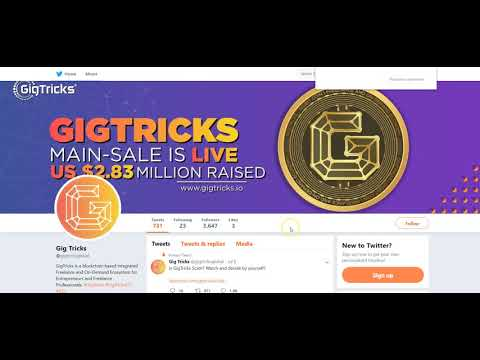 Обзор внимания вокруг ICO GigTricks #GigTricks #GigTricksICO #ICO #Cryptocurrency #Blockchain