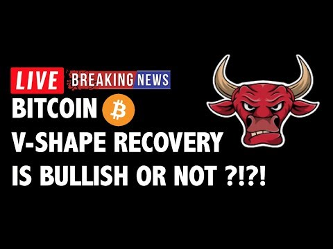 V-Shape Recovery Bullish for Bitcoin (BTC)?!- Crypto Market Technical Analysis & Cryptocurrency News