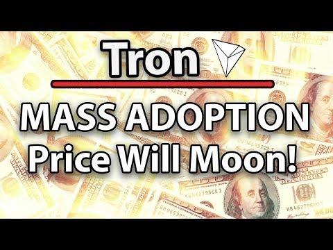 Tron (TRX) Price Will Go Up Because Of Mass Adoption, TRX vs EOS & More Old Tokens Burnt!
