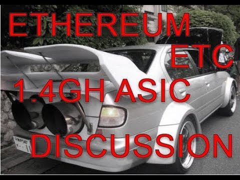 1400mh Ethereum ASIC Miner – What does it mean?