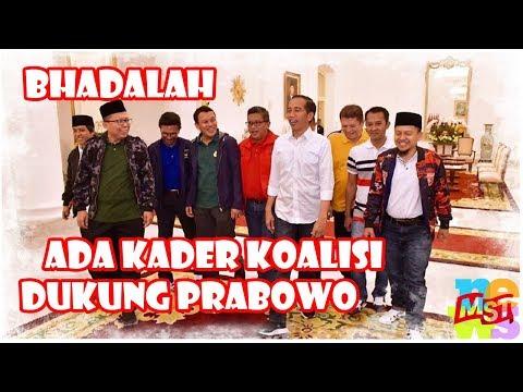 Bhadalah! Ada Kader Partai Koalisi Jokowi-Ma'ruf Dukung Bosan?