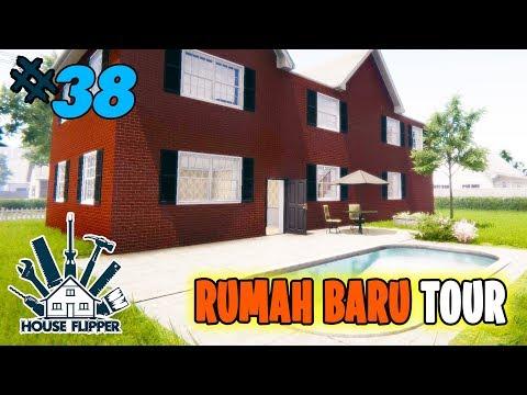 House Flipper | RUMAH BARU TOUR  BOiS x ADA KOLAM RENANGNYA ?? 😍