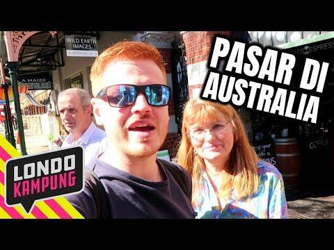 Bule Jowo Ke Pasar di Australia (Ada WARTEG Ga??) 🤔
