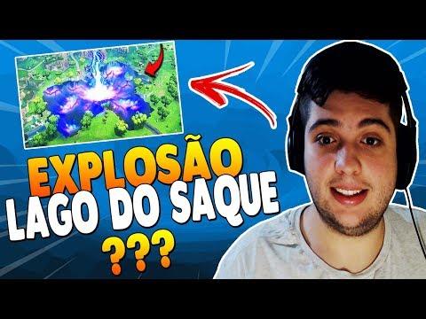 CUBO IRÁ EXPLODIR O LAGO DO SAQUE? ( BCC Trolling ) – FORTNITE