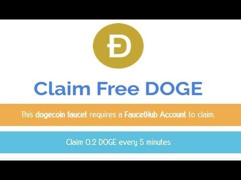 ฟรี dogecoin 0.2doge ทุก5นาที
