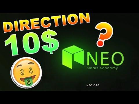 NEO 10$ DIP TOUT PROCHE !!!???  analyse technique crypto monnaie BITCOIN