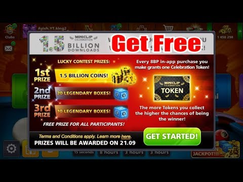 OMG. Get Free 1.5 Billion Coins 20 Legundry Box ✔