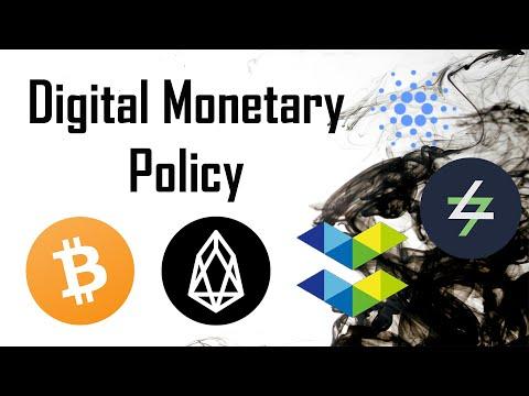 Intro to Digital Monetary Policy: Deflationary, Fixed, Inflationary models $SWTH $BTC $EOS $ADA $ELA