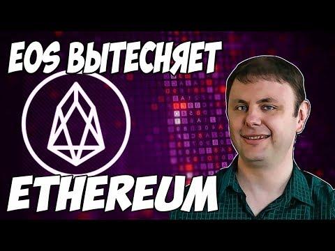 Eos уничтожит ethereum в 2019 году? Причины для роста.