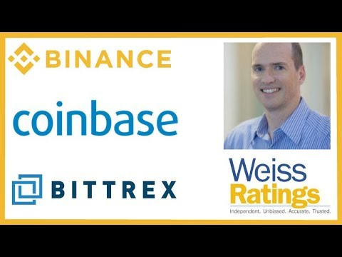 Binance Fiat Exchange – Coinbase Wall Street – Weiss Ratings Bittrex – Ben Horowitz Crypto & Dot-Com