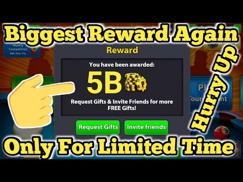 OMG ! 5 Billion Coins Biggest Reward Again Hurry Up | Claim Now Only For Limited Time