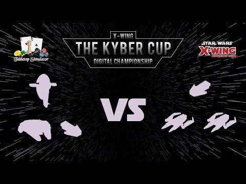 The Kyber Cup 2018 | X-Wing 2nd Edition | Swiss Round 1 | Spookyboi vs. Zoid
