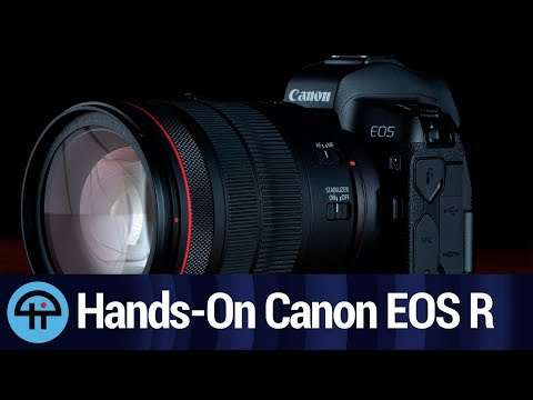 Hands-On the Canon EOS R With DPReview