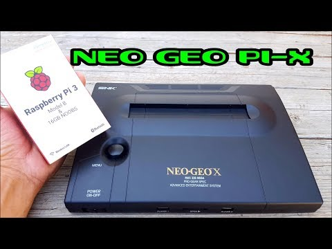 How to build a NEO GEO Pi-X console