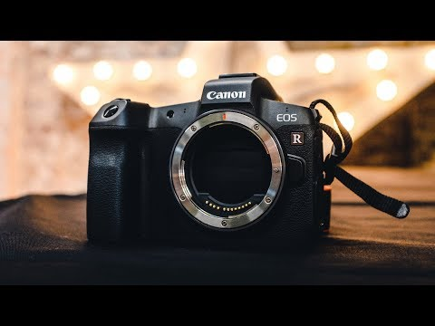 CANON EOS R — First Look + Hands On Review