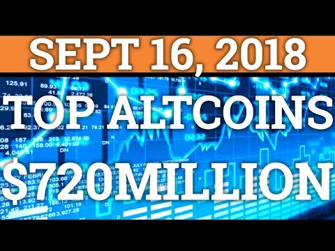 MY TOP 3 ALTCOINS TO INVEST IN! | $720 MILLION BITCOIN WALLET! | CRYPTOCURRENCY PRICE + NEWS 2018