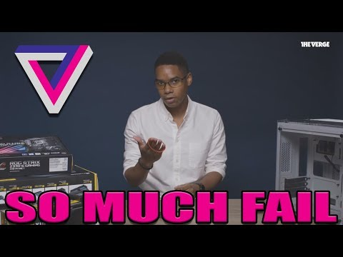 Let's Cringe At The Verge Failing MISERABLY At Building A PC