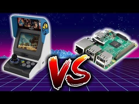 Neo Geo Mini Versus Raspberry Pi 3B+ RetroPie Madlittlepixel Live!