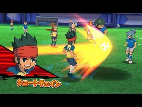 Inazuma Eleven Go Strikers 2013 Neo Raimon Vs Mega Inazuma Eleven Wii 1080p (Dolphin/Gameplay)