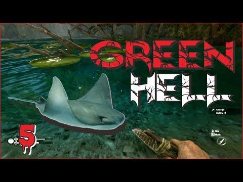 Ada IKAN PARI Coy dibawah AIR TERJUN!? #5 | Green Hell Indonesia