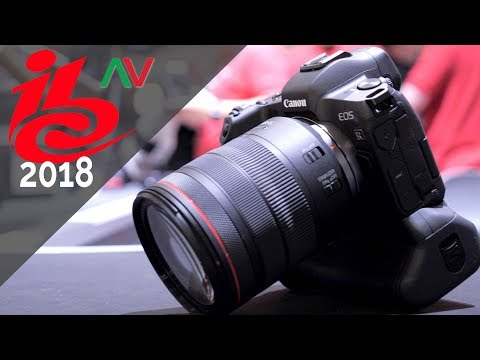 How Canon see the EOS R System – IBC 2018