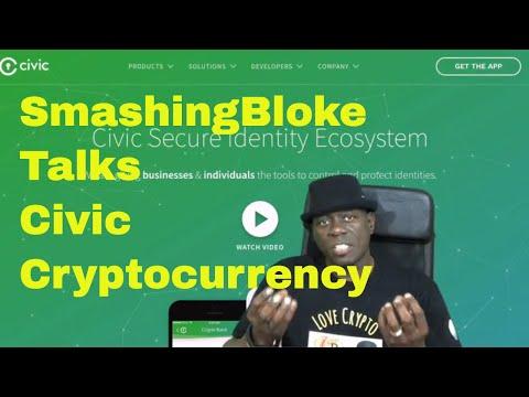 SmashingBloke Talks Civic Cryptocurrency