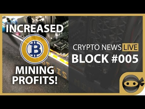 Bitcoin Gold Mining Profitability – BLOCK #005