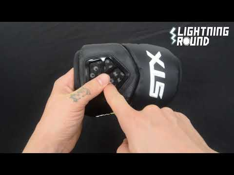 STX Cell IV Lacrosse Elbow Pads – Lightning Round