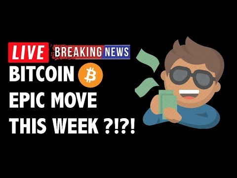 Expect Epic Move in Bitcoin (BTC) This Week!- Crypto Market Technical Analysis & Cryptocurrency News
